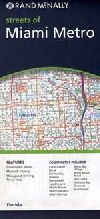 City Map of Miami, Florida Metro Area by Rand McNa