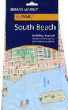 City Fabric Map of South Beach, Florida by Rand Mc