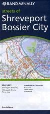 City Map of Shreveport and Bossier City, Louisiana