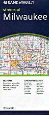 City Map of Metro Milwaukee, Wisconsin by Rand McN