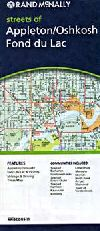 City Map of Oshkosh, Wisconsin by Rand McNally