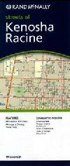 City Map of Kenosha and Racine, Wisconsin by Rand