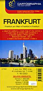 City Map of Frankfurt by Cartographia