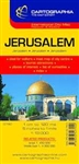 City Map of Jerusalem, Israel by Cartographia