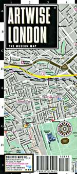 Artwise London by Streetwise Maps