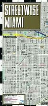City Map of Miami, Florida by Streetwise