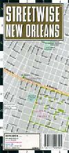City Map of New Orleans, Louisiana by Streetwise