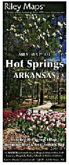 City Map of Hot Springs, Arkansas by Riley Marketi