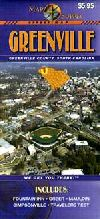 City Map of Greenville, South Carolina by Map Supp