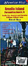 City Map of Amelia Island, Florida by American Map
