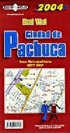 City Map (Indexed) of Pachuca, Mexico by Guia Roji
