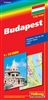 City Map of Budapest by Hallwag