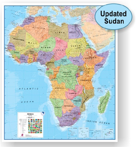 Africa Map Africa Physical Map Labeled