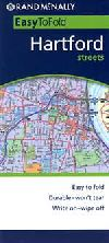 Easy to Fold City Map of Hartford, Connecticut by