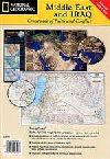 Middle East with Iraq, 2-sided by National Geographic Maps