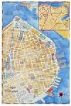 "Cuba with Havana & Varadero Wall Map (18"" x 27"") b"