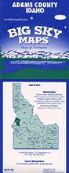 County Map of Adams County, Idaho by Big Sky Maps
