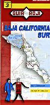 State Map of Baja California Sur, Mexico by Guia R