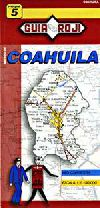 State Map of Coahuila, Mexico by Guia Roji