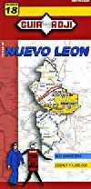 State Map of Nuevo Leon, Mexico by Guia Roji