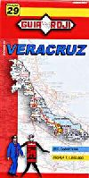 State Map of Veracruz, Mexico by Guia Roji