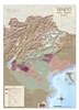 Italy, Veneto Wine Regions Wall Map by VinMaps