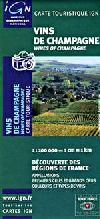 Champagne, France, Wine Region by Institut Geographique National