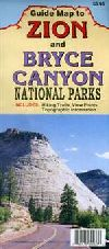 Bryce Canyon and Zion National Parks, Guide Map by North Star Mapping