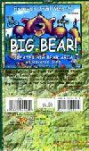 Big Bear, California Trails Map by Franko's Maps