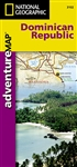 Adventure Map of the Dominican Republic (#3102) by National Geographic Maps