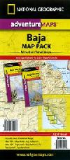 North and South Baja California AdventureMap (2 Ma