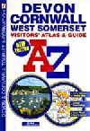 Devon and Cornwall, Visitor's Atlas and Guide by Geographers' A-Z Map Company