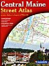 Central Maine Street Atlas by Delorme Mapping