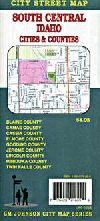 City Map of Twin Falls, Idaho including Mountain H