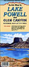 Lake Powell and Glen Canyon, Utah Recreation Map by North Star Mapping