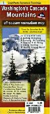Washington's Cascade Mountains, All-Season Recreation by Great Pacific Recreation & Travel Maps