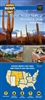 Arizona and Utah Regional Scenic Tours Map by MAD Maps