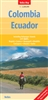 Country Map of Colombia and Ecuador by Nelles Verlag GmbH