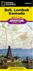 Adventure Map of Bali, Lombok, and Komodo, Indonesia (#3005) by National Geographic Maps