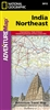 Adventure Map of Northeast India (#3012) by National Geographic Maps