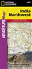 Adventure Map of Northwest India (#3013) by National Geographic Maps