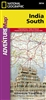 Adventure Map of Southern India (#3014) by National Geographic Maps