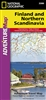 Adventure Map of Finland and Northern Scandinavia (#3300) by National Geographic Maps
