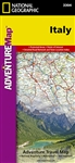 Adventure Map of Italy (#3304) by National Geographic Maps