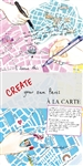 Create Your Own Paris by A la Carte Maps