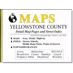 Yellowstone County, Montana, Atlas by DTG Maps
