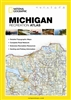 Michigan State Recreational Atlas by National Geographic