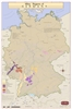 Germany Wine Regions Wall Map by VinMaps