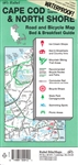 Cape Cod, The Islands and North Shore, Road and Bicycle Map, waterproof by Rubel BikeMaps
