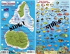 Cook Island Fish Card by Frankos Maps Ltd.